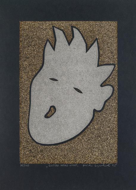 Kiki Kogelnik, 'Glitter Head Light', 1996, Galerie Kovacek & Zetter
