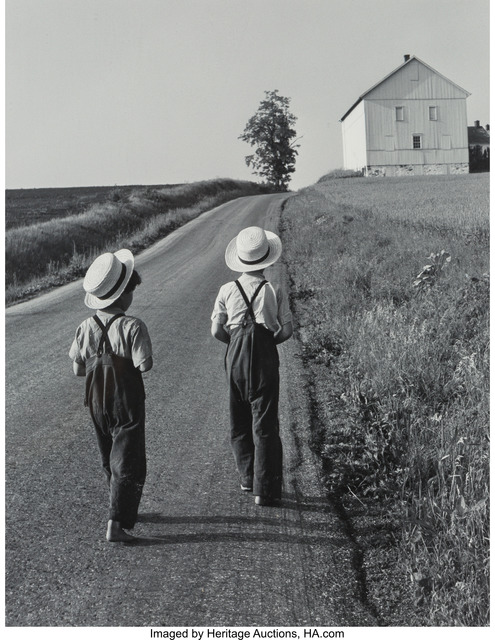 George Tice, 'Two Amish Boys', 1962, Heritage Auctions