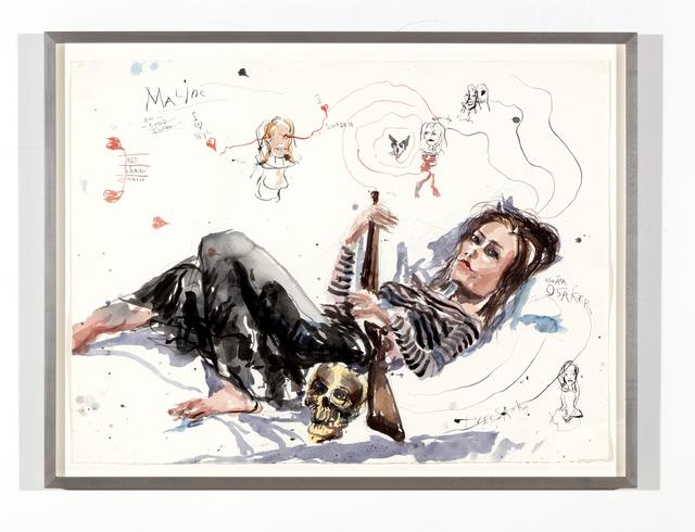 Brad Kahlhamer, 'Maline, Born in Lund', 2005, Sean Horton (presents)