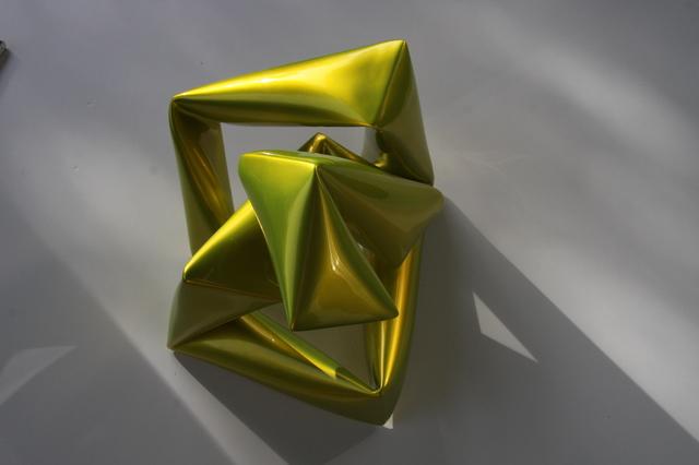 , 'Wall object (yellow),' , Bluerider ART