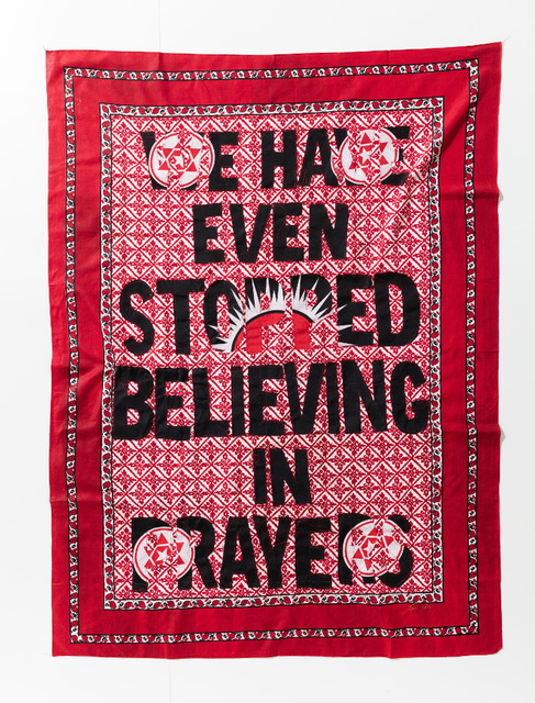 , 'We even stopped Believing in Prayers,' 2017, Afronova