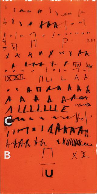 Mira Schendel, 'Untitled', ca. 1970, Phillips