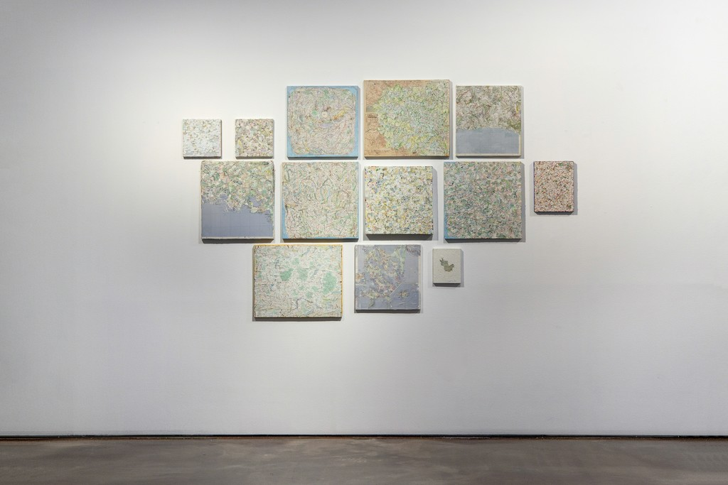 Installation view of KIM Soun-Gui, 0 Time at ARARIO GALLERY Seoul, Korea, 2018