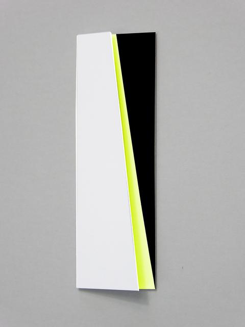 , 'Schräg dahinter leuchtgelb,' 2018, Galerie La Ligne