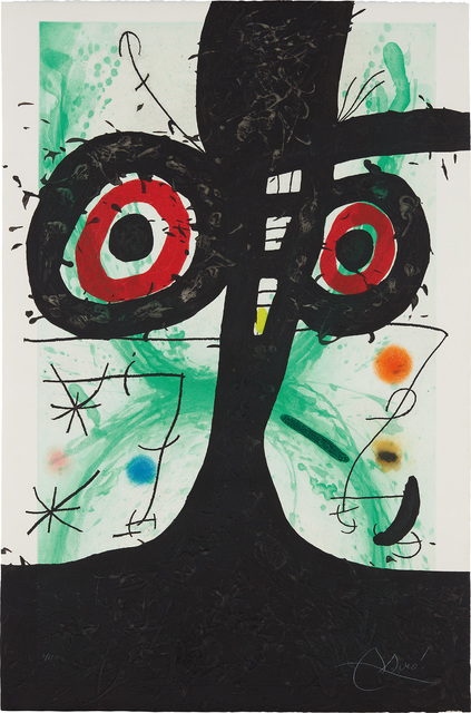 Joan Miró, 'Le Vieil Irlandais (The Old Irishman)', 1969, Phillips