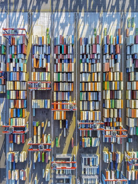 , 'Container Port 43,' 2019, Bau-Xi Gallery