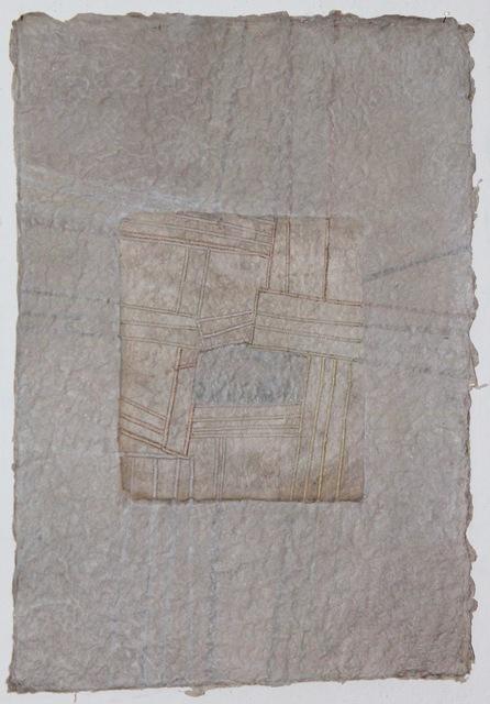 Grace Bakst Wapner, 'Grey on Grey', 2019, Textile Arts, Mixed Media, Carter Burden Gallery