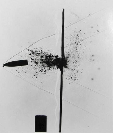 , 'Bullet through Plexiglass, from Seeing the Unseen,' 1963-printed circa 1978, Scott Nichols Gallery