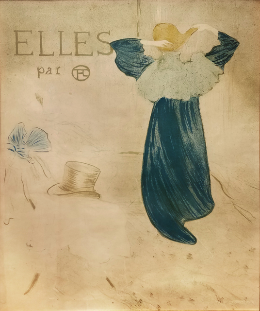 , 'Elles - Before Lettering - EXTREMELY RARE,' 1896, Omnibus Gallery
