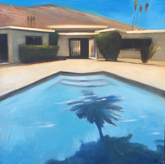 , 'Palm Pool,' 2016, Sue Greenwood Fine Art