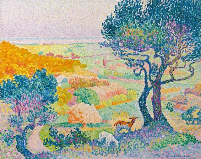 , 'La Plaine de Bormes,' 1907-1908, Richard Green Gallery