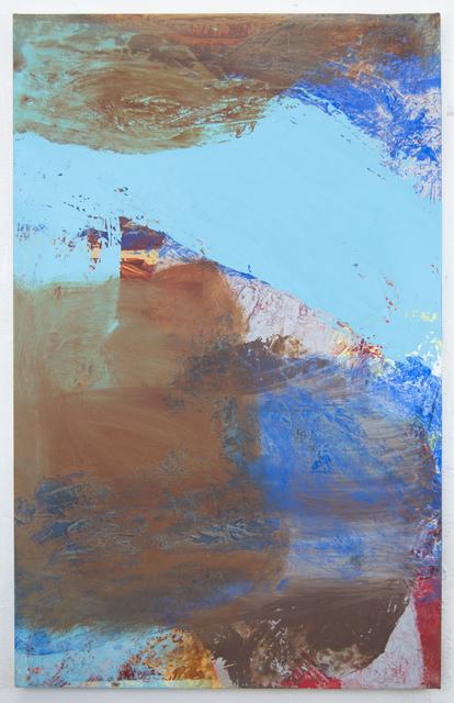 , 'Bedsheet Painting: Sweep,' 2017, Morgan Lehman Gallery