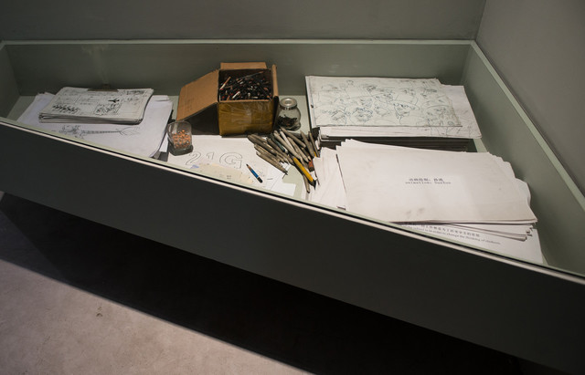 , '21 KE-Display Box of Outline Sketch,' 2006-2010, ShanghART