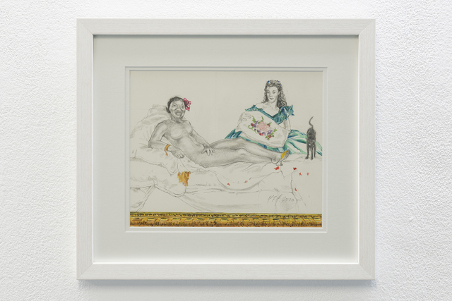 , 'Olympia Model Role (Hattie MacDaniel – Vivien Leight),' 2010, ADN Galeria (Barcelona)
