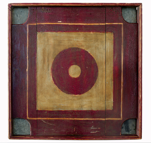 Unknown Artist, 'American Variation on Crokinole Gameboard', 1910-1920, Ricco/Maresca Gallery