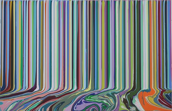 , 'Colourcade: Purple, Magenta,' 2015, Dan Galeria