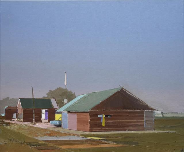 , 'Abend am Moorkanal,' 2015, Galerie Jochen Hempel