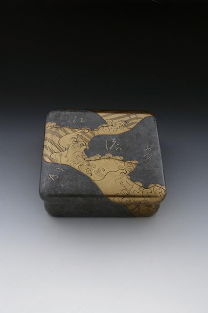 , 'Kōetsu Lacquer Box with Poem,' Heisei era (1989, present), dated 1996, Erik Thomsen