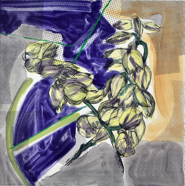 , 'Yucca Bloom V,' 2013, Shark's Ink.