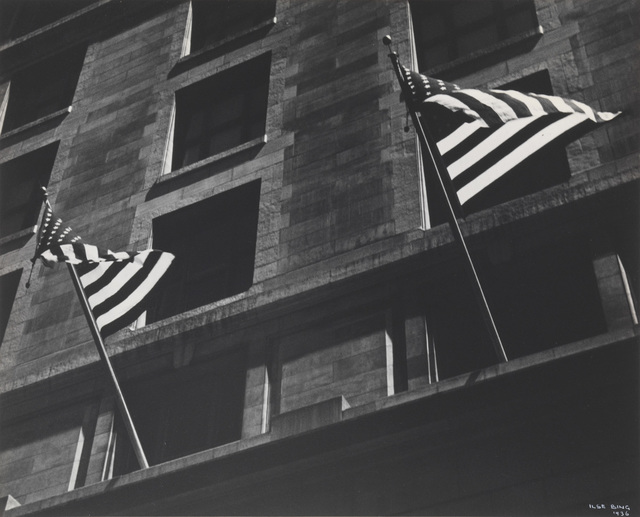 , 'FLAGS, FIFTH AVENUE, FOURTH OF JULY, NEW YORK,' 1936, Jörg Maass Kunsthandel