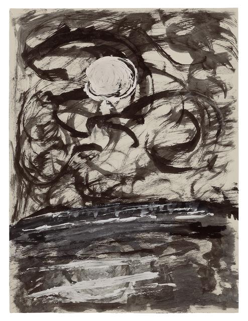 , 'Moon Landscape,' undated, New York Studio School