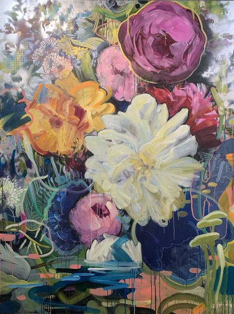 Carmelo Blandino, 'Baraka', ca. 2020, Painting, Acrylic and Spray Paint on Canvas, METHOD & CONCEPT