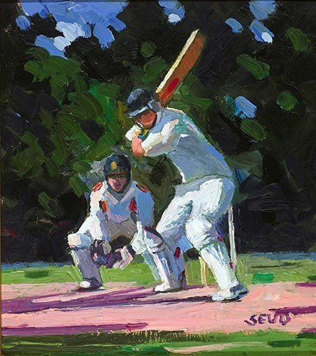 , 'The Cricket Game,' 2017, Clarendon Fine Art