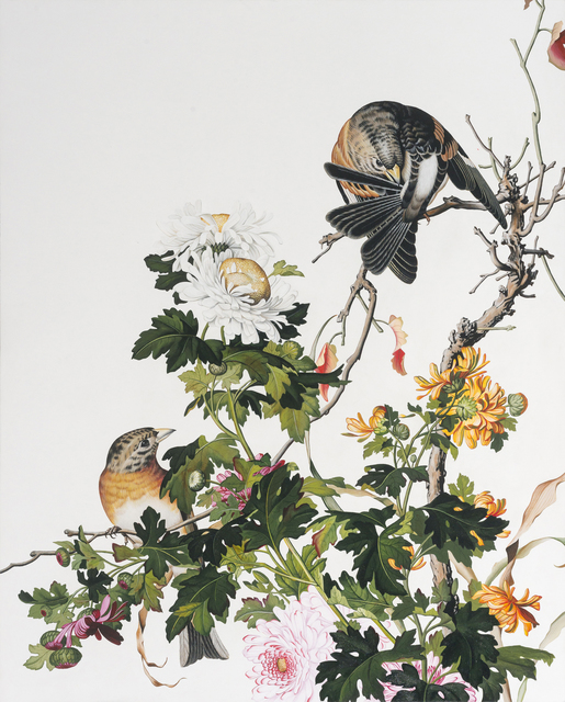 , 'Immortal Blossoms in an Everlasting Spring XV,' 2015, Tina Keng Gallery