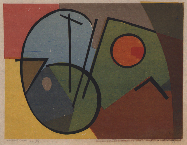 , 'Landscape Forms  1944,' 1944, Dolan/Maxwell