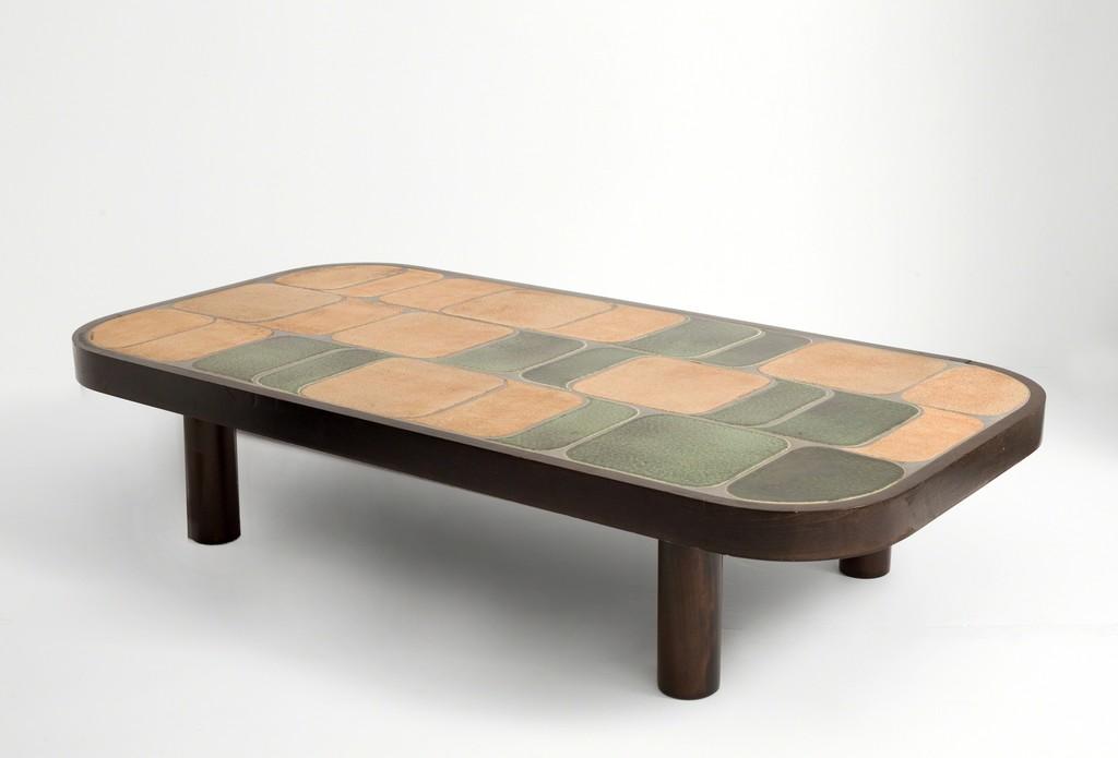 Roger capron shogun coffee table ca 1960 artsy - Artsy coffee tables ...