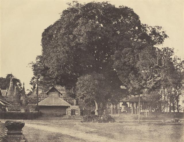Linnaeus Tripe, 'Rangoon: Great Bell of the [Shwe Dagon] Pagoda', November 1855, National Gallery of Art, Washington, D.C.