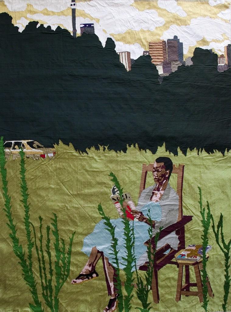 Billie Zangewa, 'Exquisite fantasy,' 2014, Afronova
