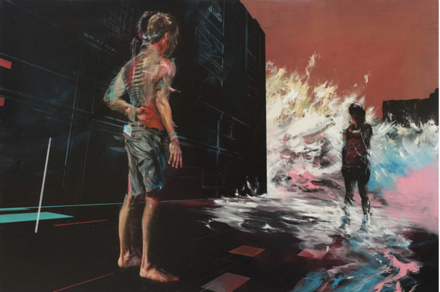 , 'A Wave Forms The End Of The Street,' , Corey Helford Gallery