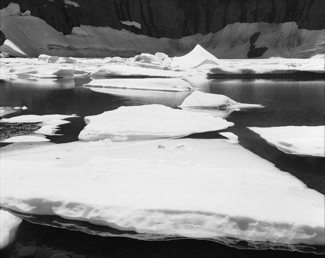 , 'Warming, Iceberg Lake, Montana,' 2014, Moran Bondaroff