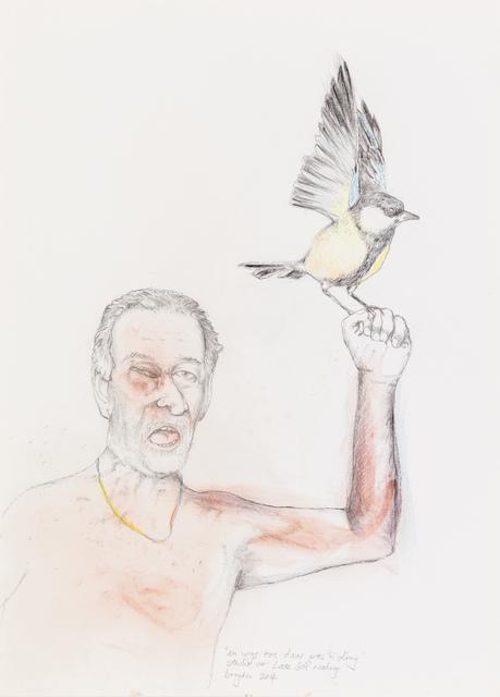 , 'Study for late self,' 2014, Stevenson