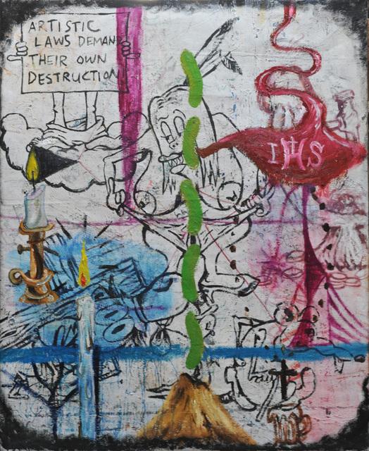 , 'Artistic Laws,' 2011, Galerie Nathalie Obadia