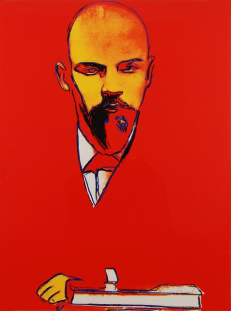 Andy Warhol, 'Red Lenin', 1987, Imitate Modern