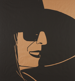 Alex Katz, 'Large Black Hat Ada 2,' 2013, Phillips: Evening and Day Editions (October 2016)