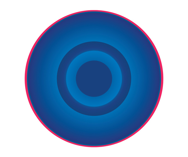 , 'Blue Circle with Red Ring,' , ArtStar
