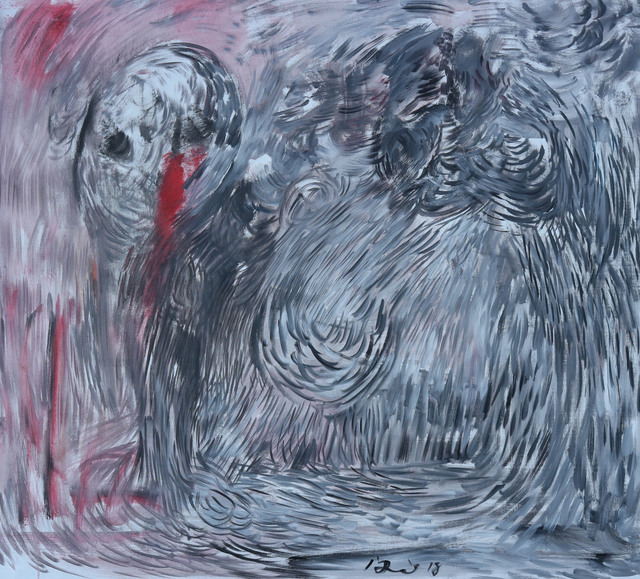 , 'If Munch Were Alive,' 2018, Blue Hill Fine Arts