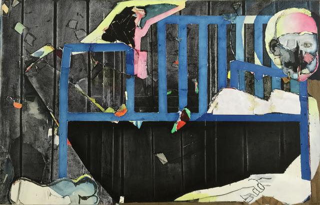 Magnus Plessen, 'The Blue Bench', 2015, Mai 36 Galerie