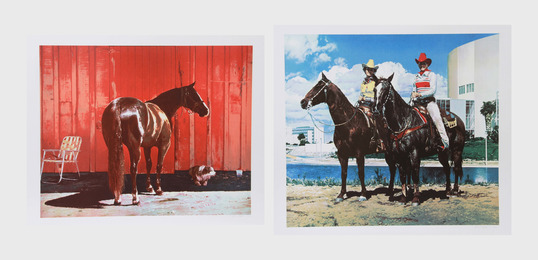 Richard McLean, 'Kahlua Lark and Diamond Tinker & Jet Tex (two works),' ca. 1980, Heritage Auctions: Holiday Prints & Multiples Sale