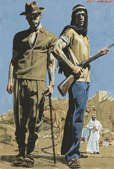 , 'Men in Desert,' , Carrie Haddad Gallery