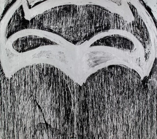 , 'Silver Batman for Berlin (to be titled in Berlin),' 2015, Kunstraum Innsbruck