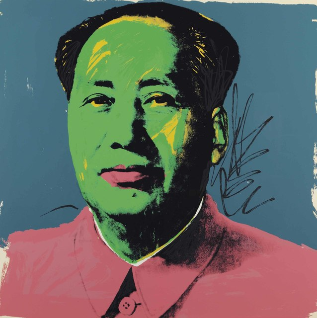 Andy Warhol, 'Mao: one print', 1972, Christie's