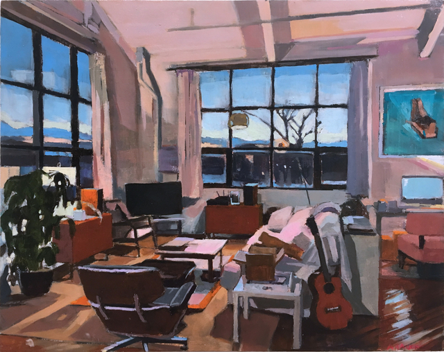 Aaron Hauck, 'Evening Sunset Living Room', 2018, Deep Space Gallery
