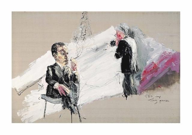 Zeng Fanzhi 曾梵志, 'Andy Warhol's Photoshoot', Christie's