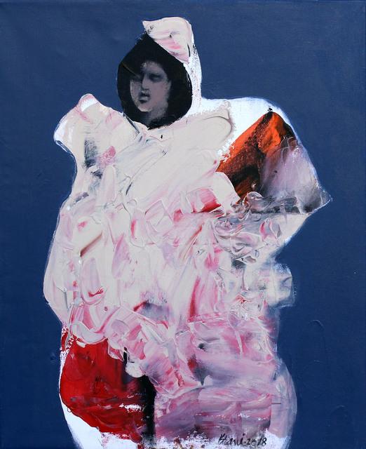 Khalid El-Khani, 'Lady in White', 2018, Orient Gallery