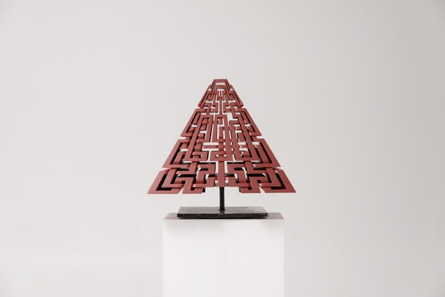 , 'Red Pyramid,' 2017, Herringer Kiss Gallery