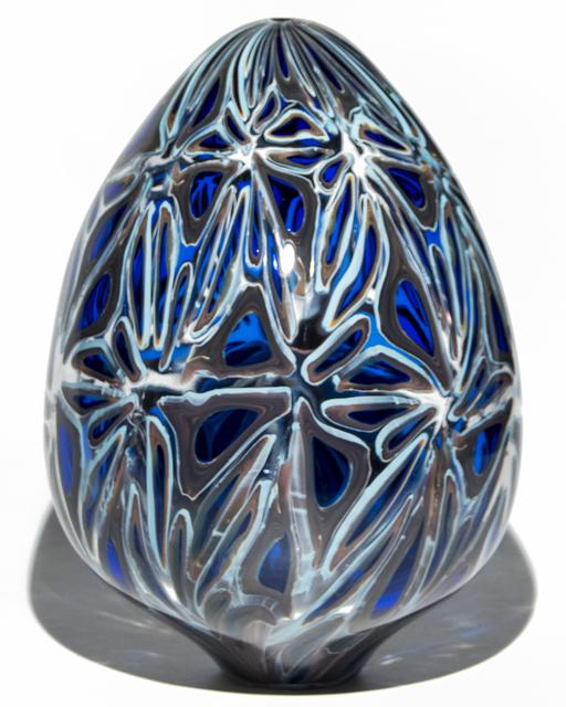 , 'Night Dragon Egg,' 2017, Murano Midwest